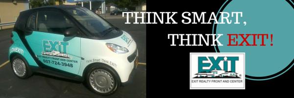 EXIT REalty smartcar ad