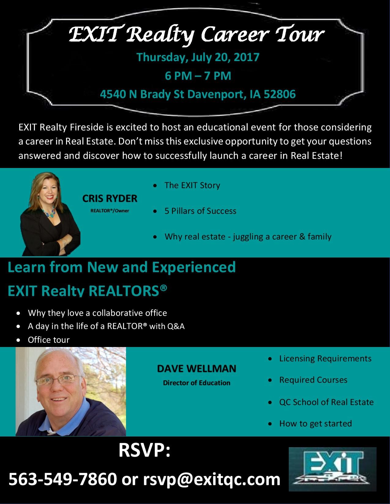 EXIT Realty Career Tour - July 20th!