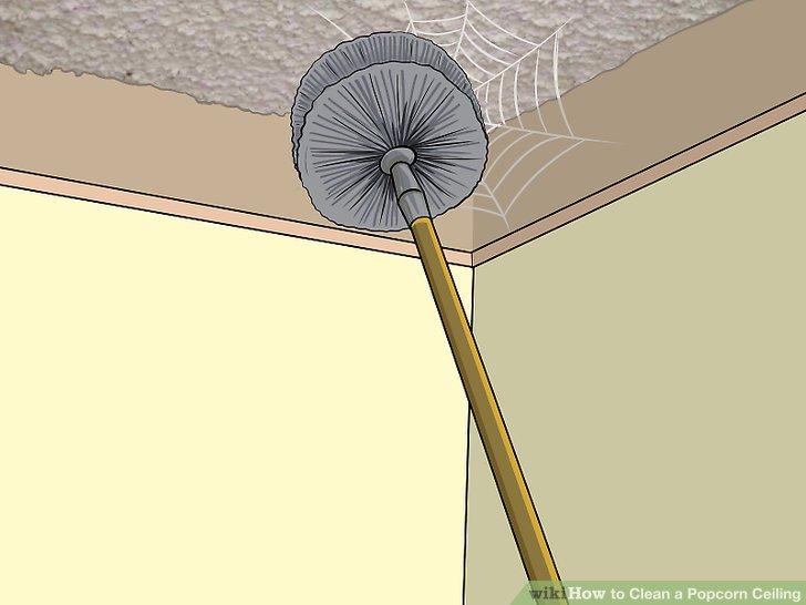 How To: Clean a Popcorn Ceiling