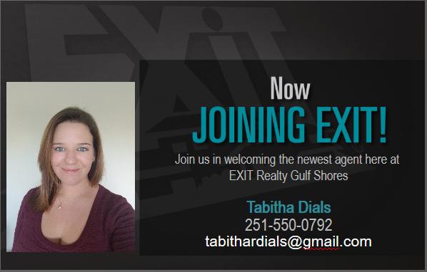 WELCOME TABITHA DIALS