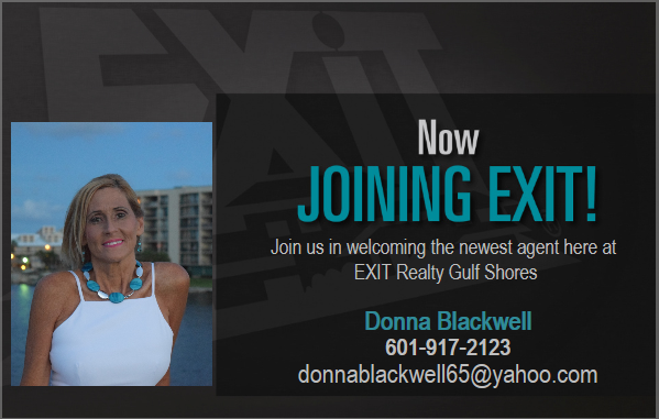 WELCOME DONNA BLACKWELL