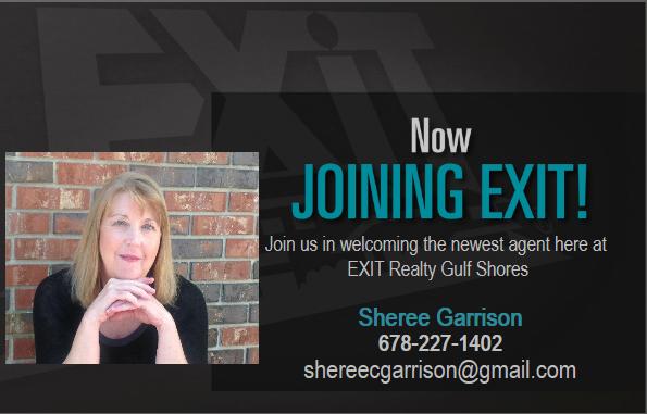 WELCOME SHEREE GARRISON