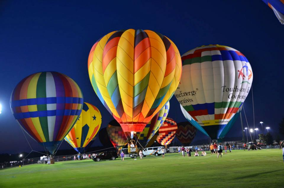 Balloon Festival in Foley Alabama