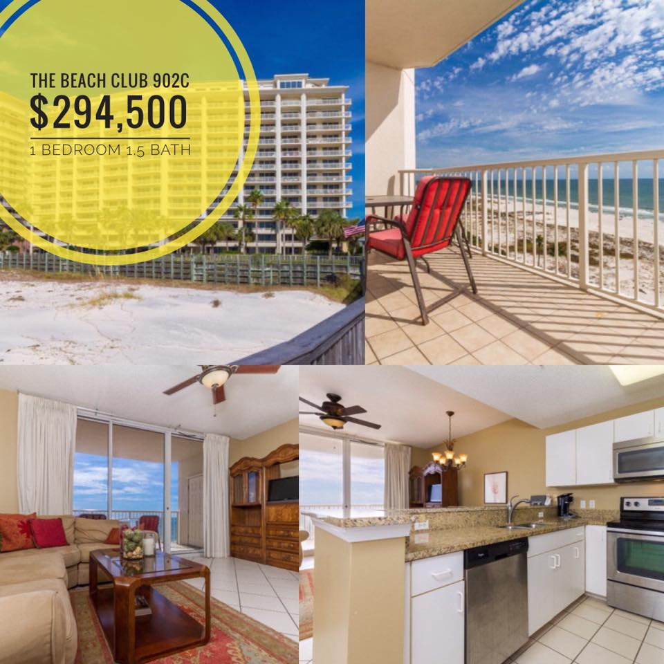 Gulf Front Beach Club Condo for Sale in Gulf Shores, AL