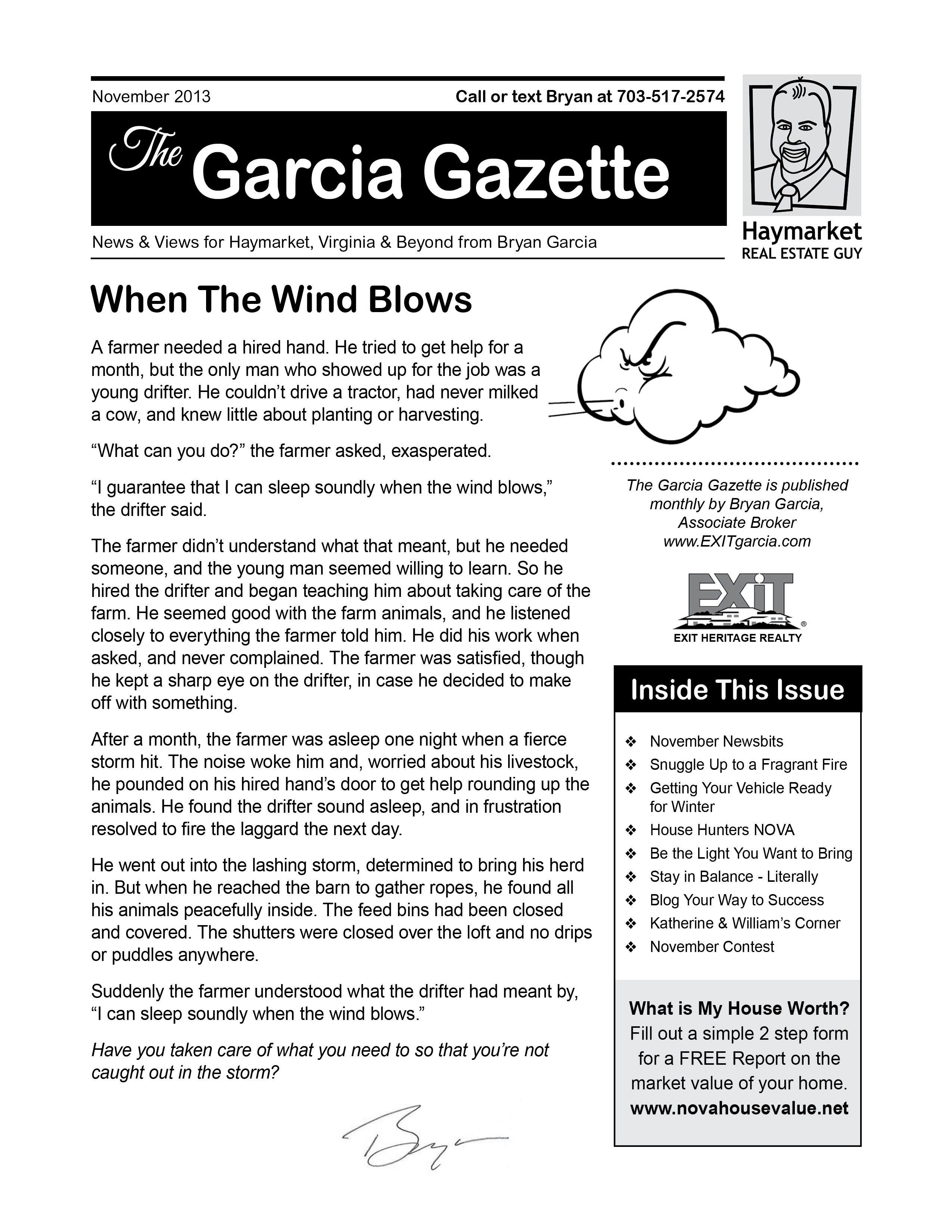 Garcia News November 2013 Issue is Out