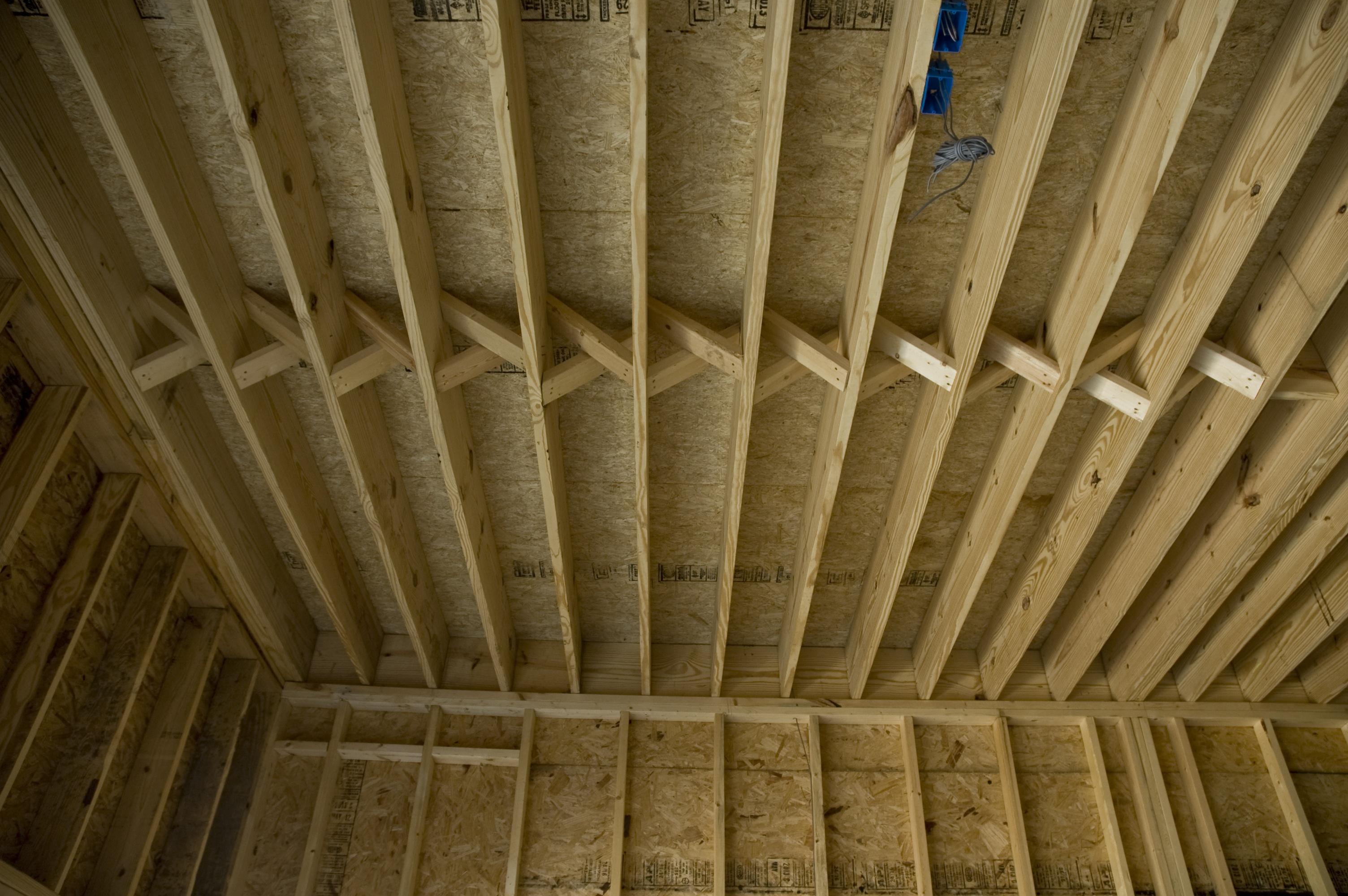 19 floor joist spans for home trus joist mountain for Floor joist span
