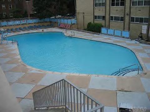 Swimming pool coop