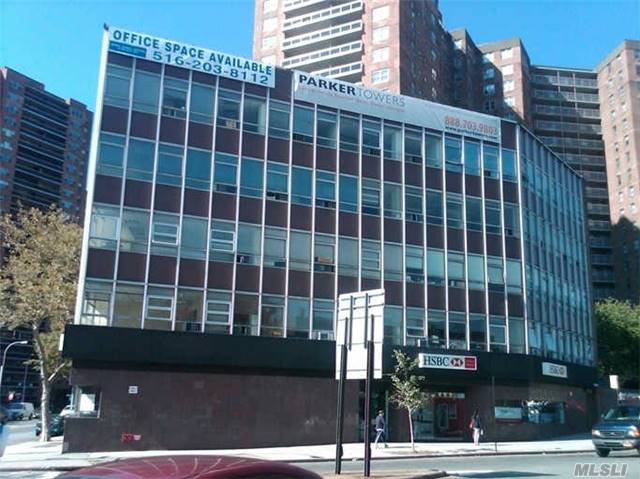 Large Office Rental on Busy Queens Blvd