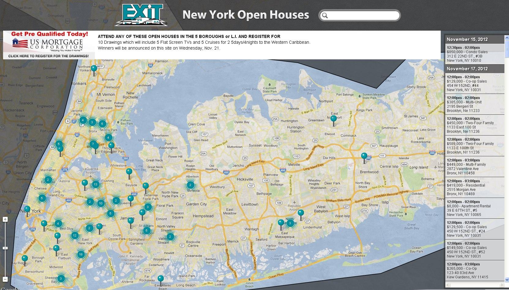New York Open House Extravaganza Nov 17-18