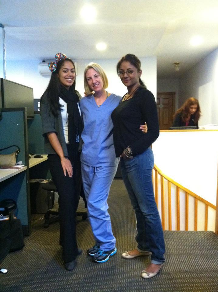 Erica, Victoria and Cyndi