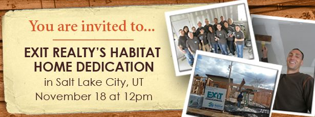 Habitat for Humanity Dedication - Salt Lake City, UT