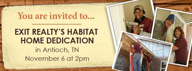 Habitat for Humanity Dedication - Antioch, TN
