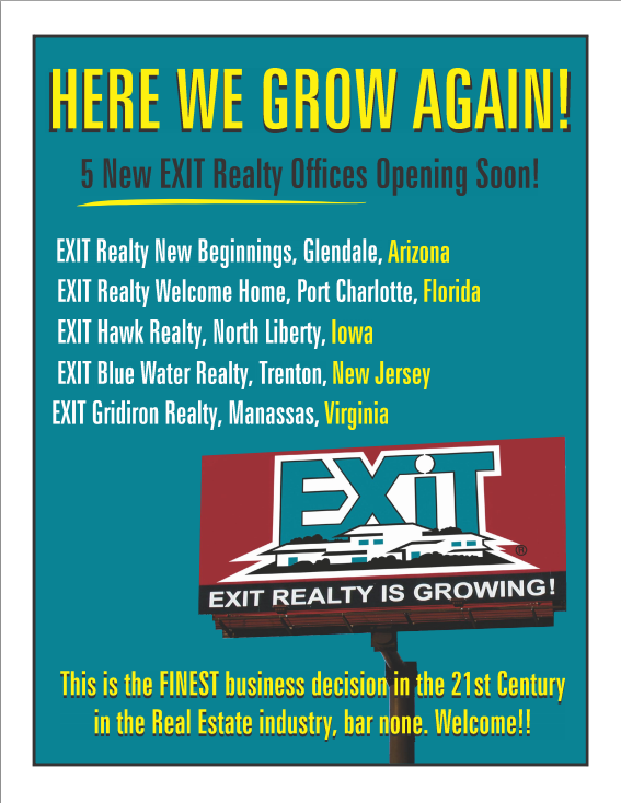 5 New Exit Offices