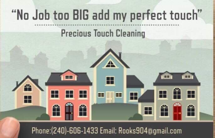 Precious Touch Cleaning - Small Business Saturday Shoutout