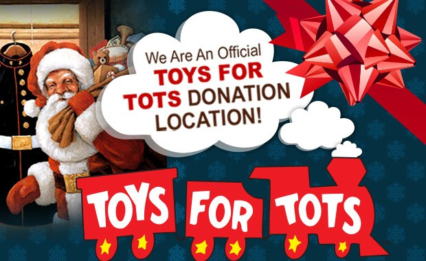 Toys For Tots Campaign : Exit landmark realty kicks off toys for tots campaign