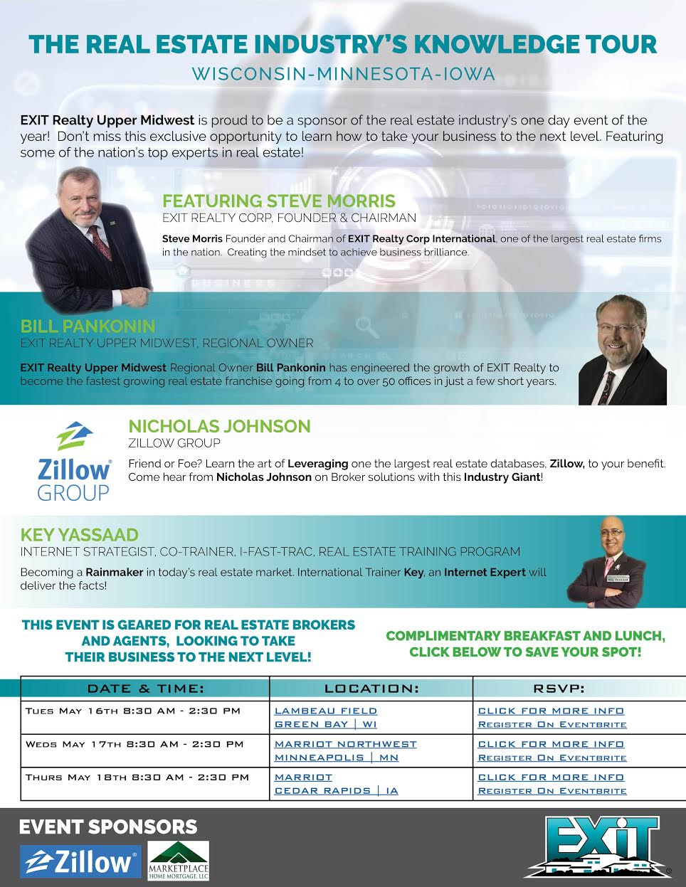EXIT Real Estate Knowledge Tour