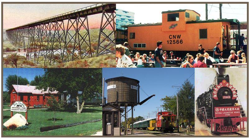 Boone Iowa Railroad Collage