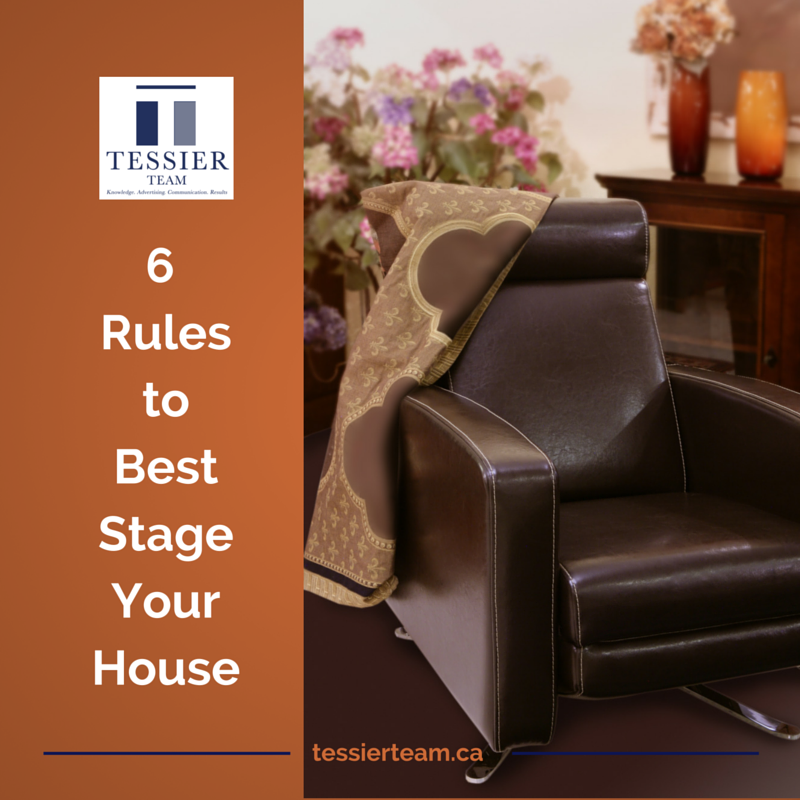 6 Rules to Best Stage Your House