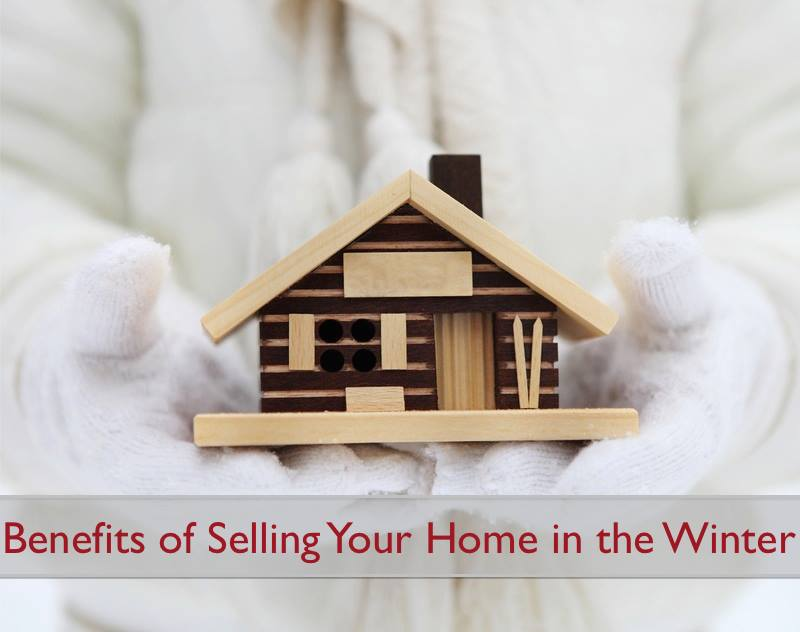 Top 4 Benefits for Selling Your Home in The Winter