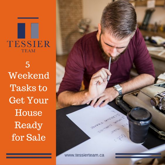 5 things you can do this weekend to get your home ready for sale