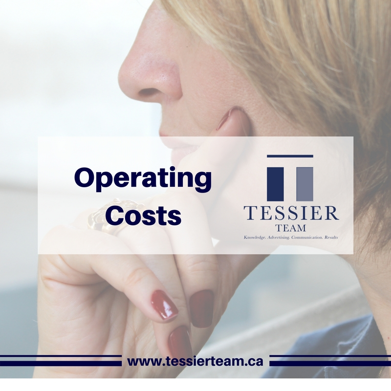 What are the costs of operating a home?