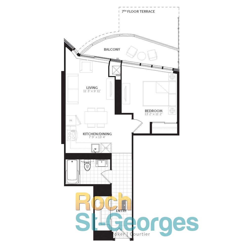 485 Preston Street Floor Plan
