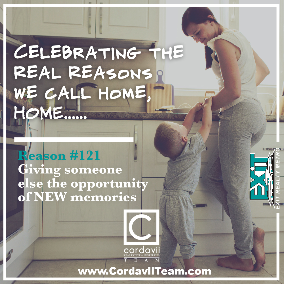 The Cordavii Team: Reason 121 for homeownership: Memories