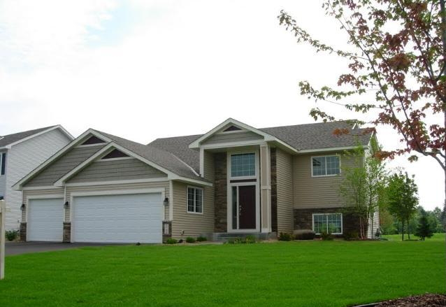 New construction home for sale affordable quality in an for Modern homes for sale mn