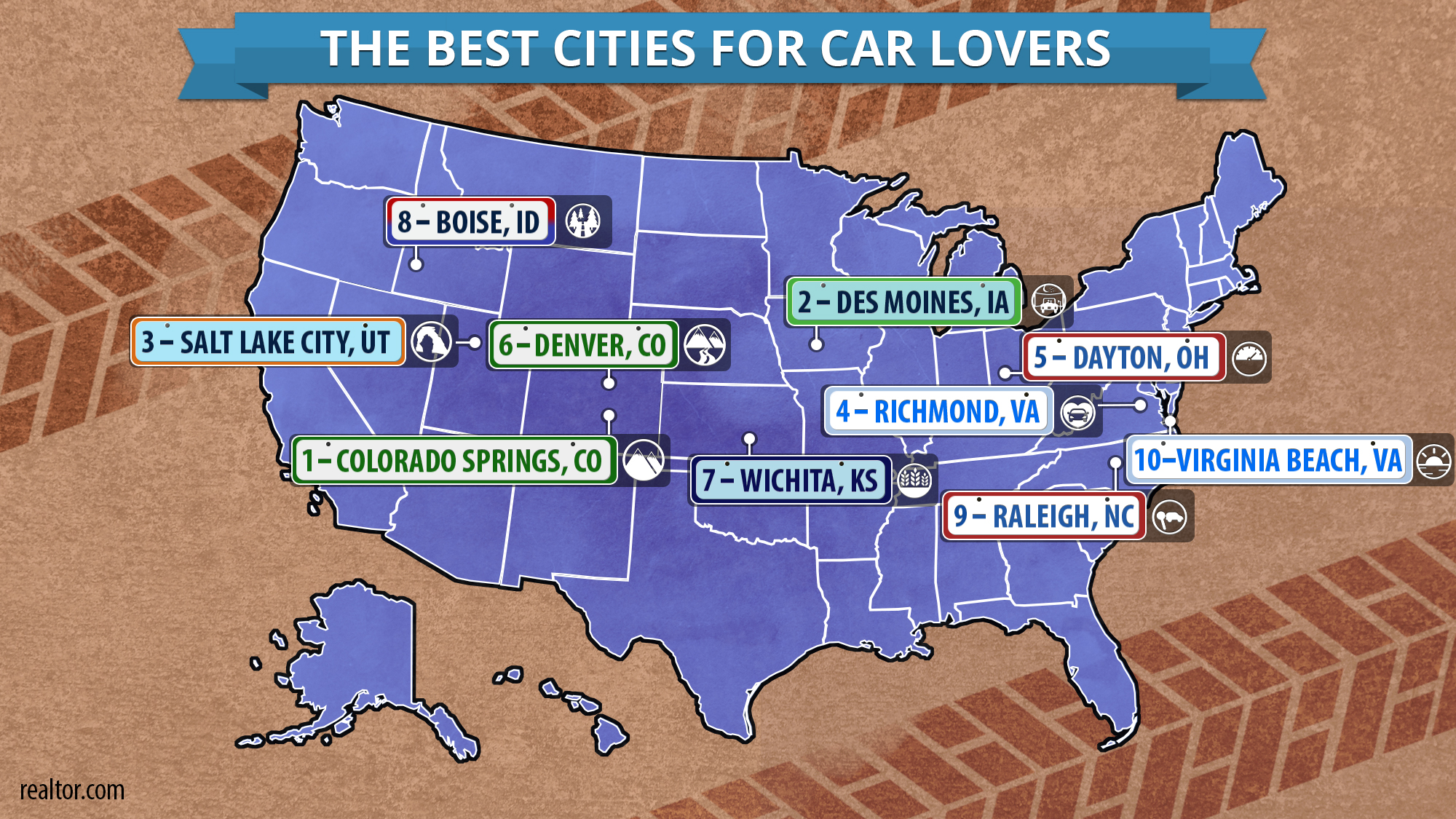 Latest Survey for Car Lovers Ranks the Greater Des Moines Metro
