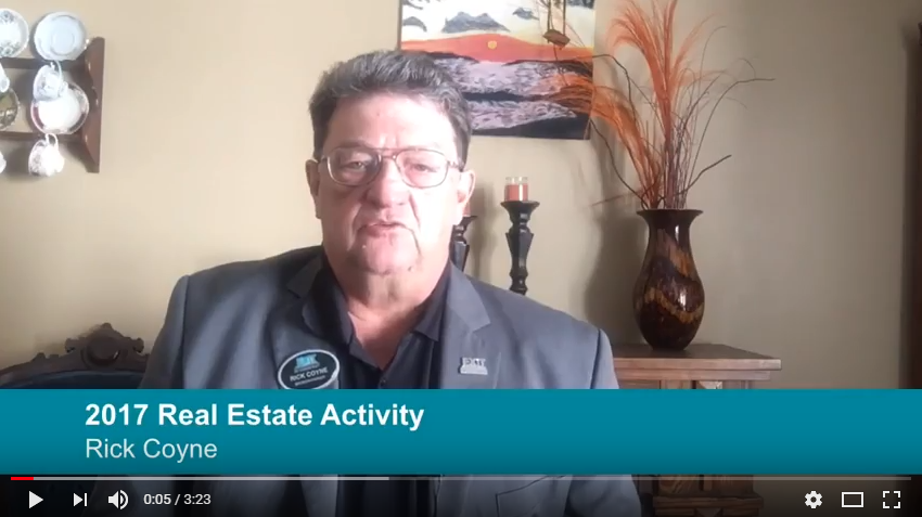 2017 Real Estate Activity with Rick Coyne