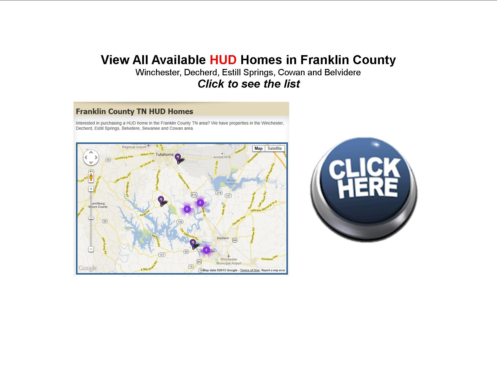 franklin county tn hud homes for sale
