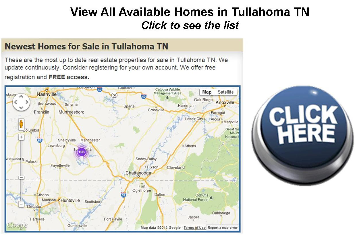Tullahoma TN Real Estate