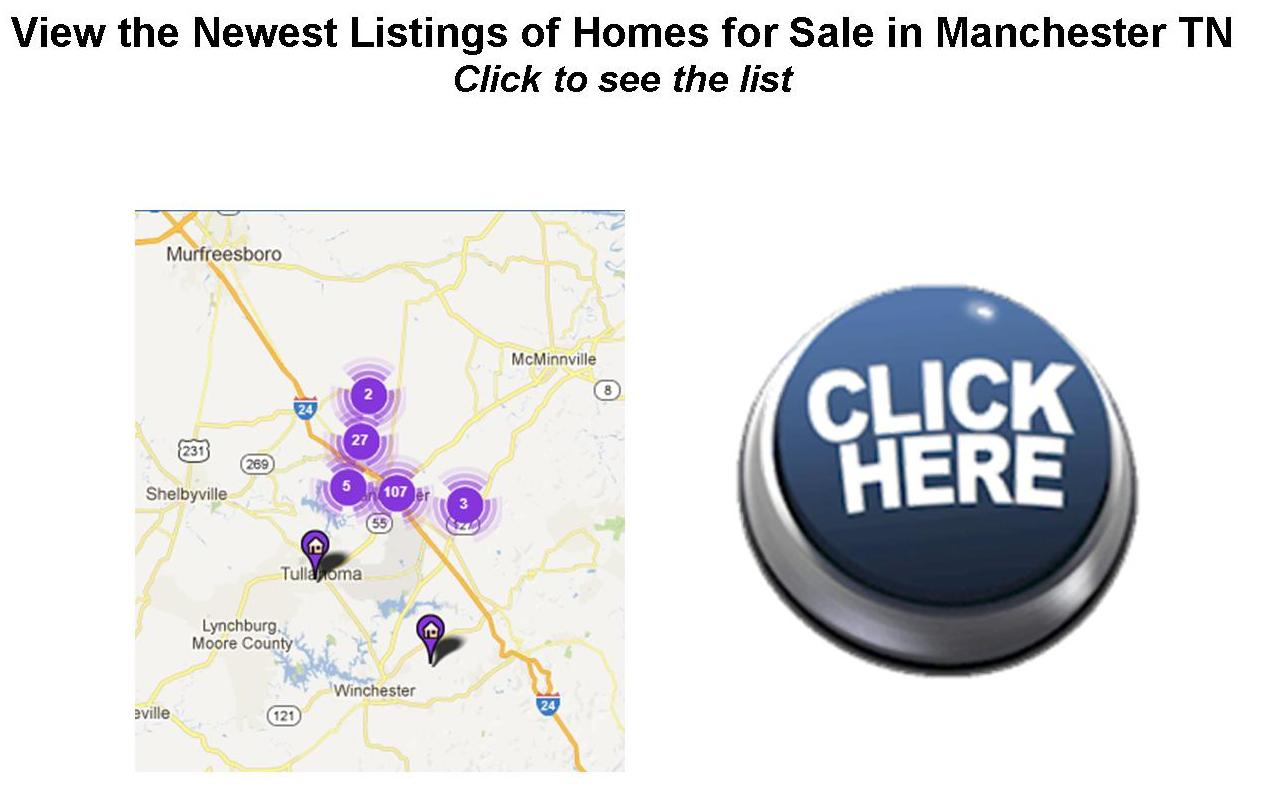 Manchester TN Newest Listings of Homes for Sale