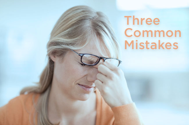 Three Common Mistakes Made by Sellers