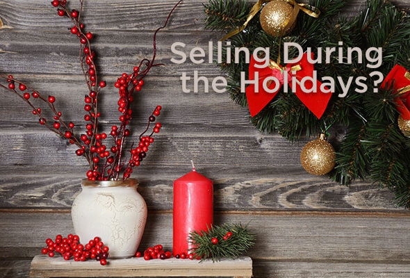 Real Estate sales tend to drop off during the Holidays, but it is not as bad a time to sell as you might think.