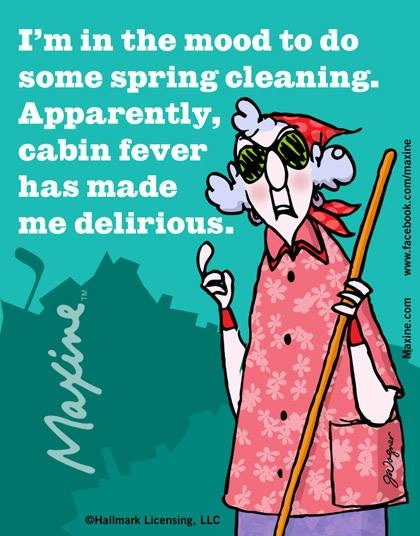 Spring Cleaning Maxine