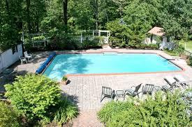 basking ridge home with pool