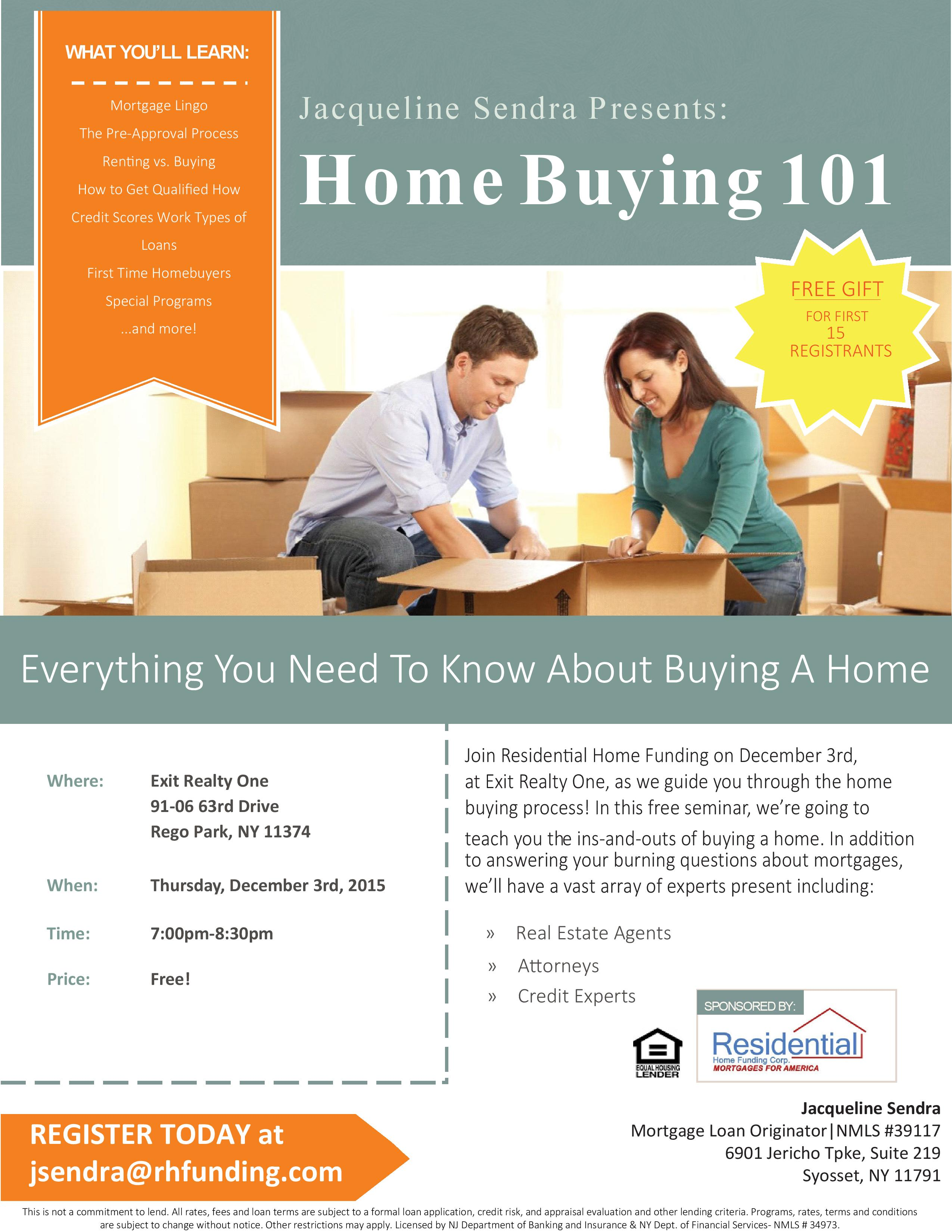 Nassau County First Time Home Buyer