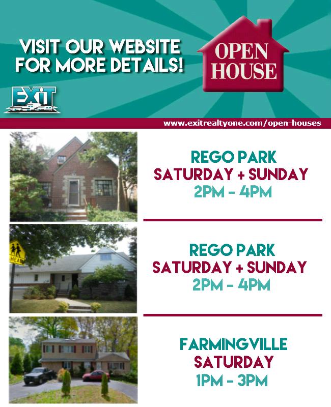 OPEN HOUSE! Sept. 25 - 27