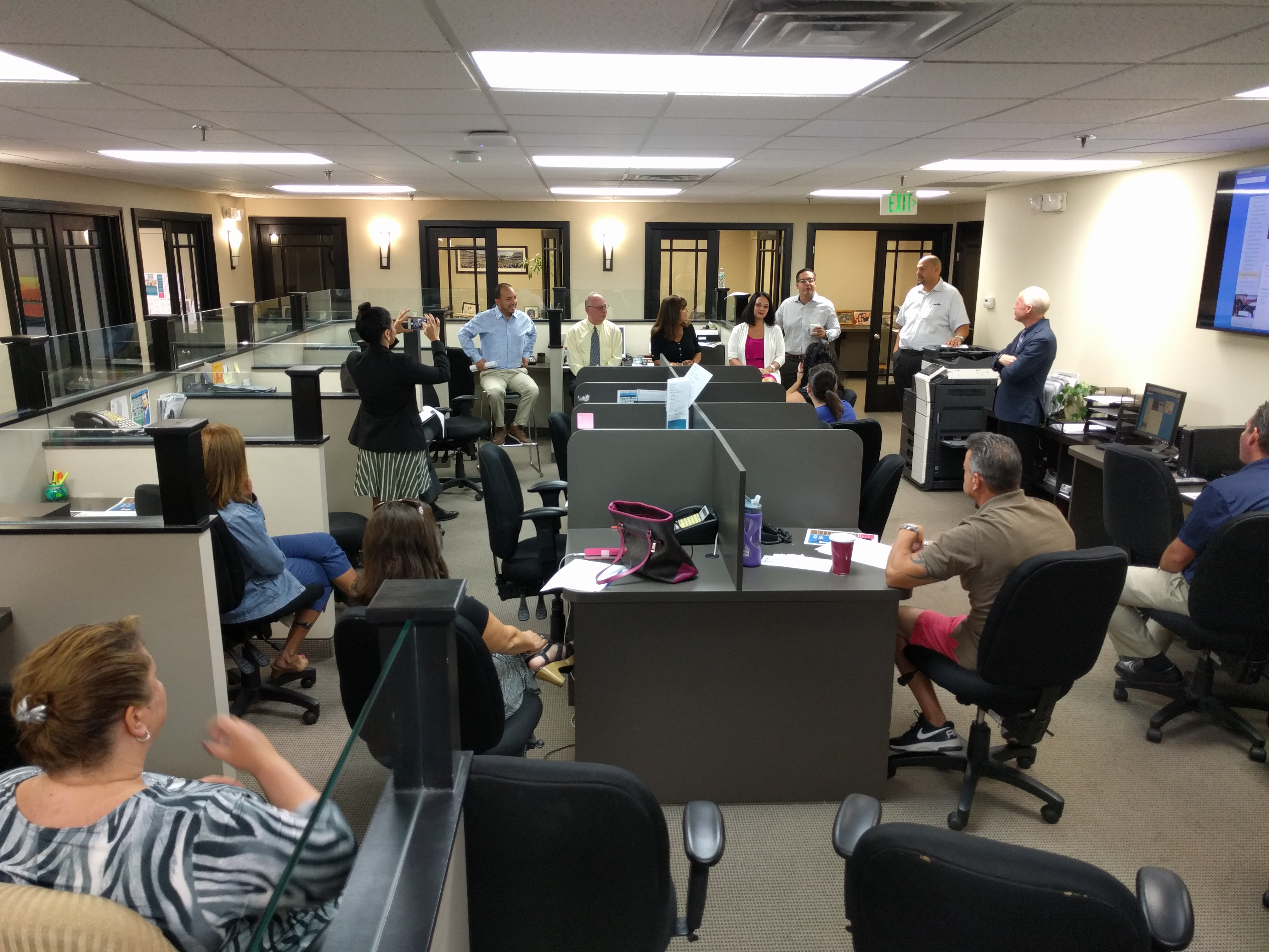 Office Meeting and Agent Panel 9/15/16