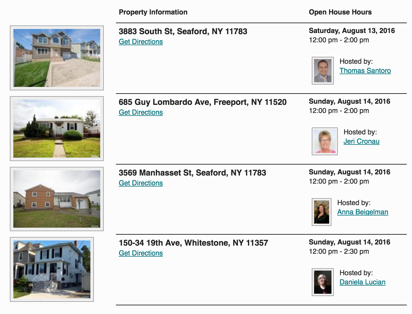 Open Houses in Long Island this Weekend 8/13 & 8/14