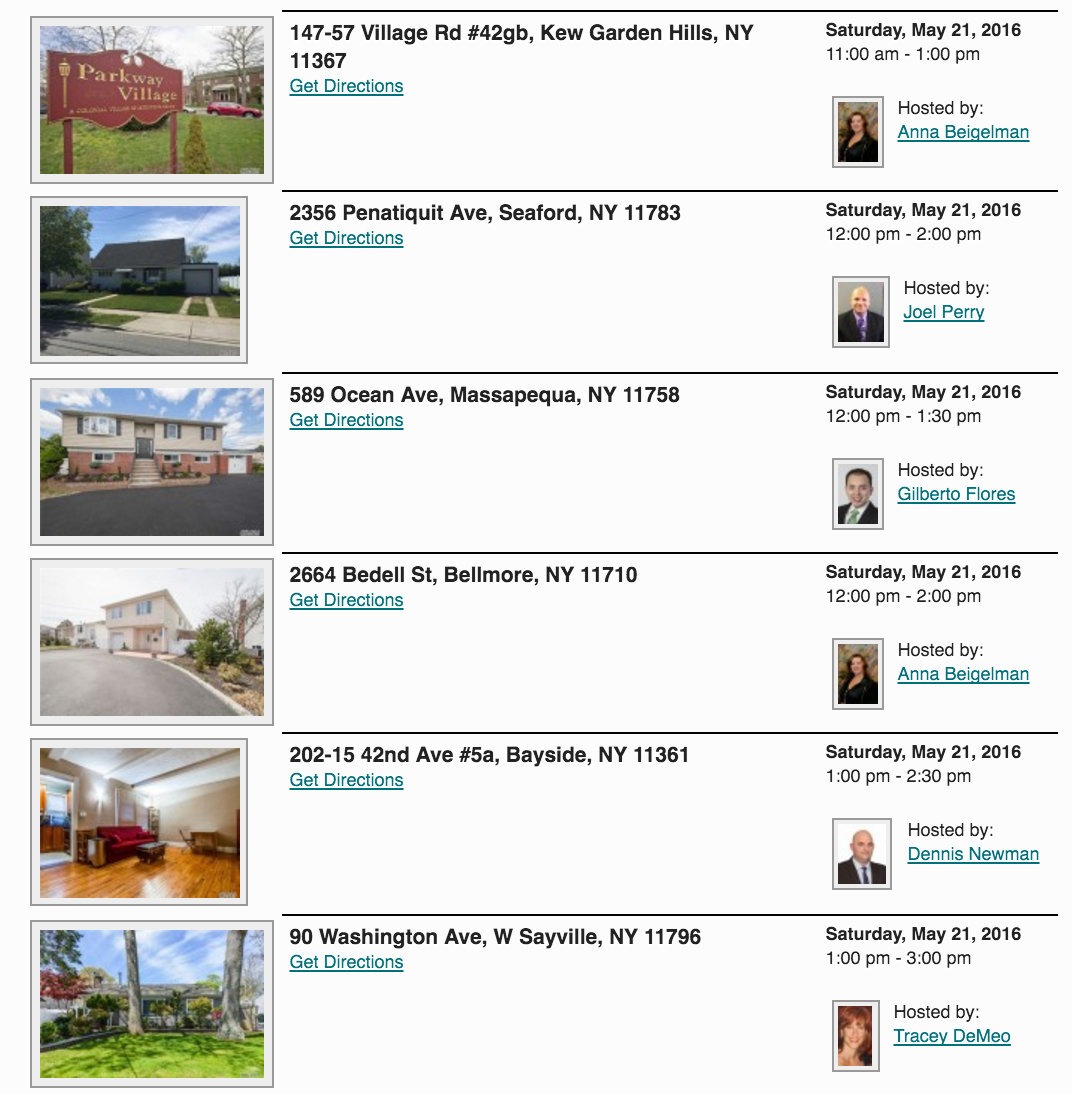 Open Houses in Long Island This Weekend!