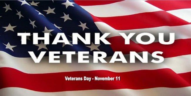 Veterans Day - November 11, 2015