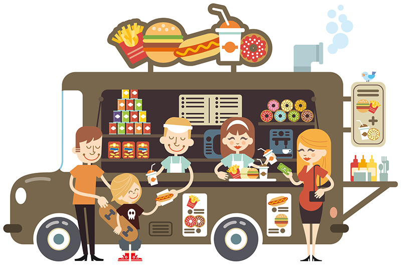 White Wheels Food Trucks
