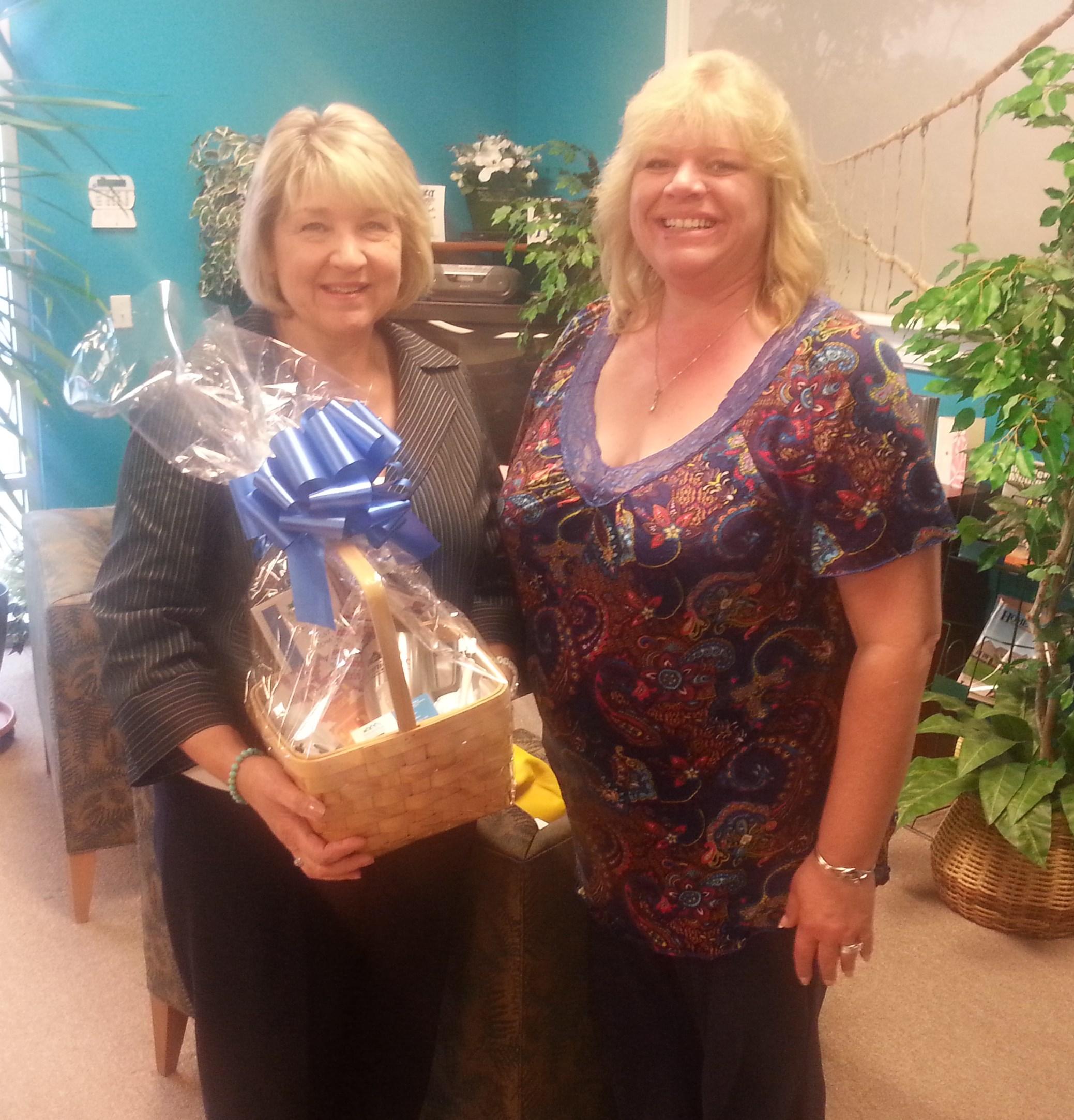 Winner of Basket of Goodies Walk MS Medford Lakes 2014