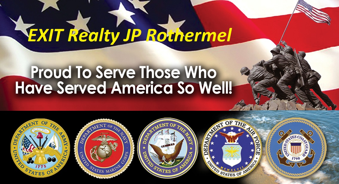 EXIT Realty JP Rothermel Happy Veterans Day Hero Home Source Program