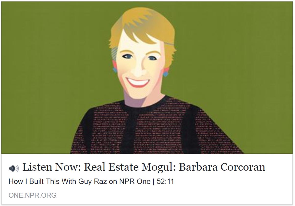 Advice from Barbara Corcoran