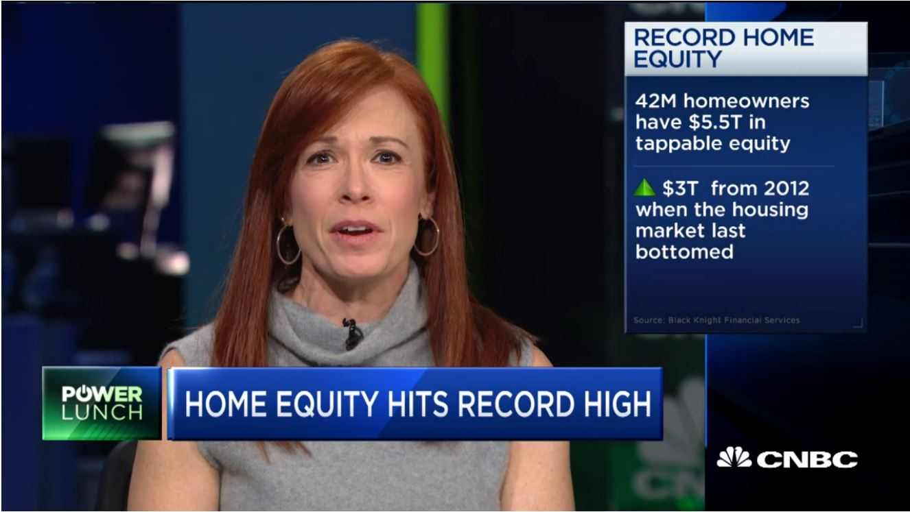 Home equity hits record high, and here's how homeowners are spending it.