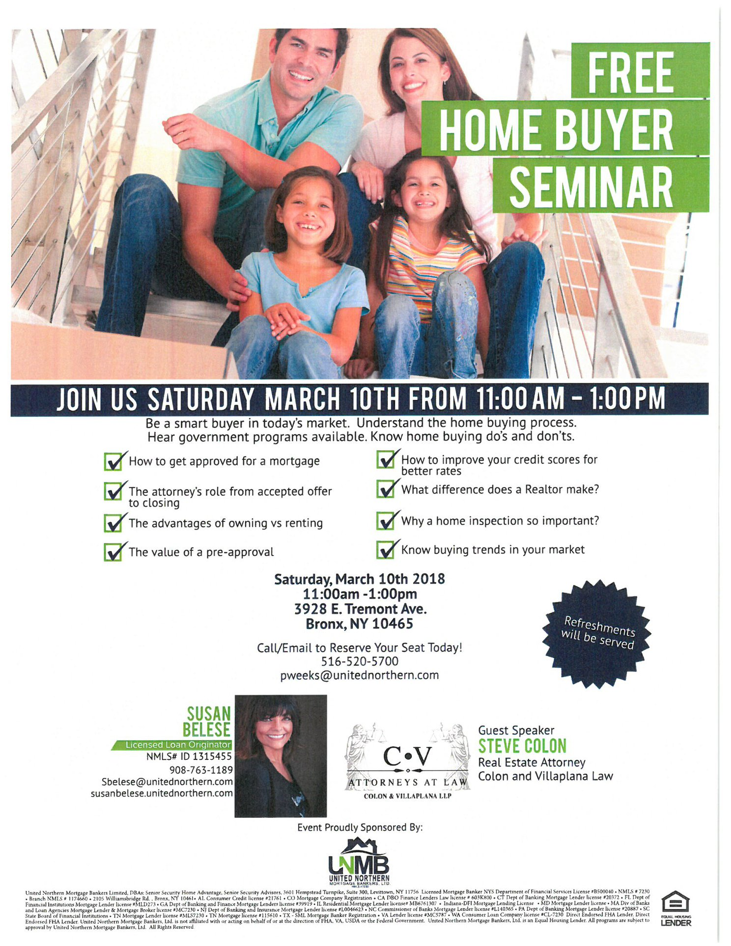 Home Buyer Seminar - March 10th