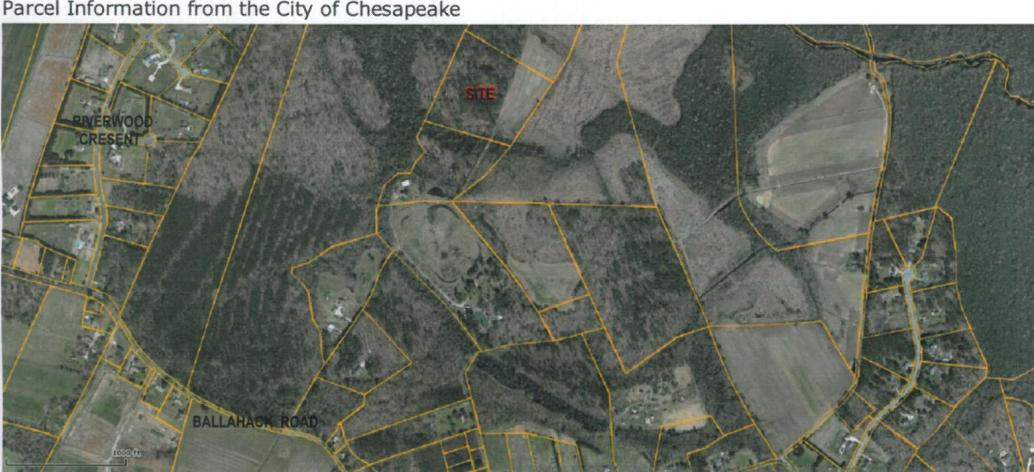 NEW RESIDENTIAL LAND LISTING! 0000 BALLAHACK ROAD IN CHESAPEAKE